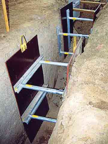 Shoring Solutions Project Gallery Trenchtech Inc
