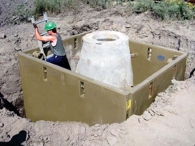 Manhole Shields Manhole Trench Box Trenchtech Inc