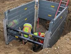 Aluminum Trench Box for sale or rental