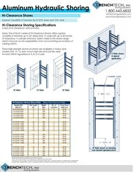 Aluminum Hydraulic Shoring 7 - Catalog