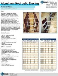 Aluminum Hydraulic Shoring 5 - Catalog