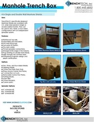 Manhole Trench Box - Catalog