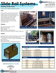 Slide Rail Systems, Sheeting - Catalog