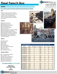 Steel Trench Box 5 - Catalog