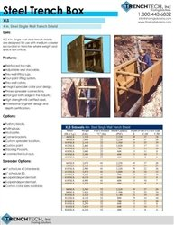 Steel Trench Box - Catalog