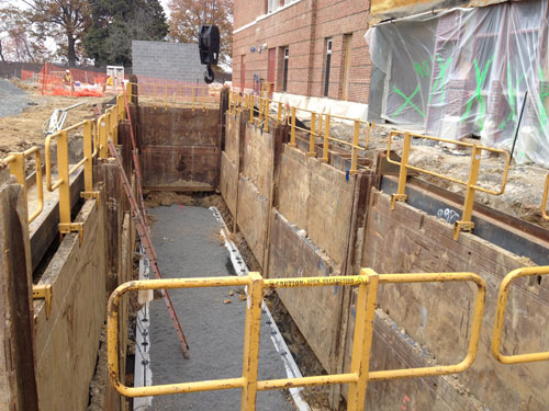 Slide Rail And Trench Box Fall Protection Fall Arrest