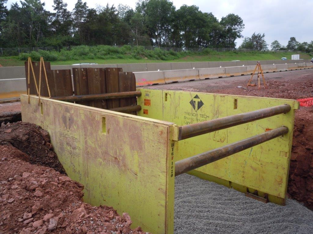 Trenchtech Inc Aluminum Trench Boxes Hydraulic