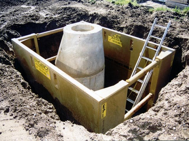 Manhole Trench Box