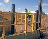 Slide Rail Fall Protection - TrenchTech