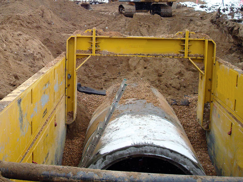 Steel Trench Box,Arches and Spreaders success story