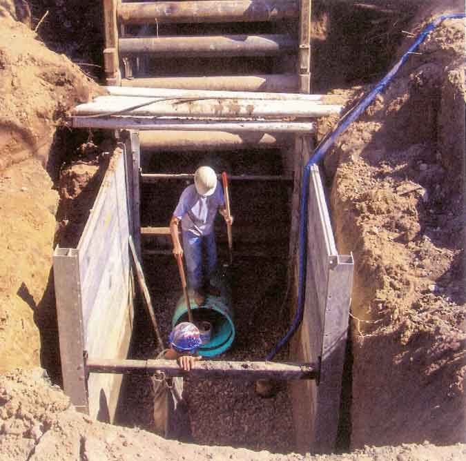 Slide Rail Systems,Steel Trench Box,Aluminum Trench Box success story