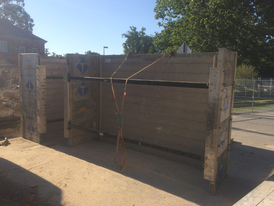 success story - Aluminum Trench Box